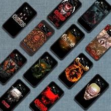 Kreators thrash meta banda caso de telefone para xiaomi mi nota 10 a3 9 max 3 a2 8 9 lite pro ultra preto pára 3d pintura à prova dwaterproof água