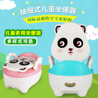 Toilet for Kids Drawer Portable Baby Small Chamber Pot Cartoon Plastic Training Potty Urinal Circle Stool