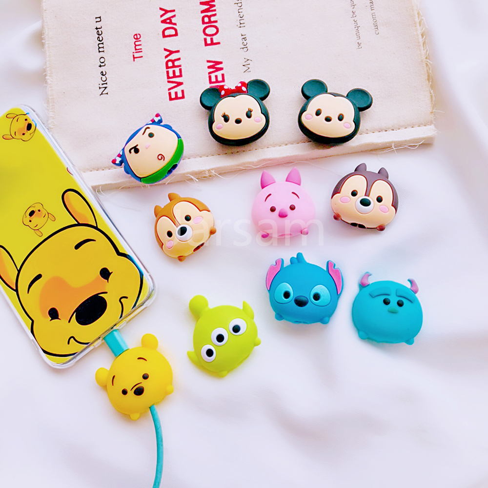 Cartoon Cable Protector Data Cable Wire Protector Cover Cable Cover For IPhone Charging Cable Protector