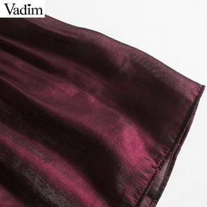 Image 4 - Vadim women elegant wine red mini dress bow tie collar long sleeve straight preppy style cute sweet dresses vestidso QD171