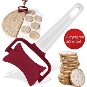 2020 Portable Handheld Rolling Dough Cutter Cookie Biscuit Dumpling Wrappers Maker Kitchen Tools Gadgets Baking tools для кухни