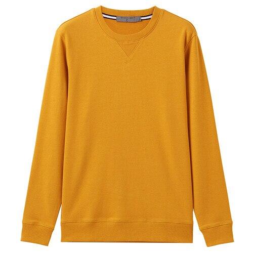 Giordano Men Sweatshirt Solid Pullover Sweatshirt Men Long Sleeve Fashion Terry Mens Clothes Sudadera Hombre Moleton Masculino 16