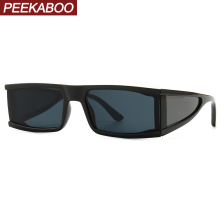 Peekaboo side shield sunglasses men mirror silver 2020 summe