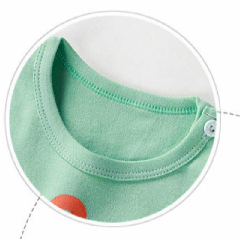 T-shirt de printemps pour garçons et filles | En coton, à manches longues, de marque, pour enfants et bébés de 12m-8 ans