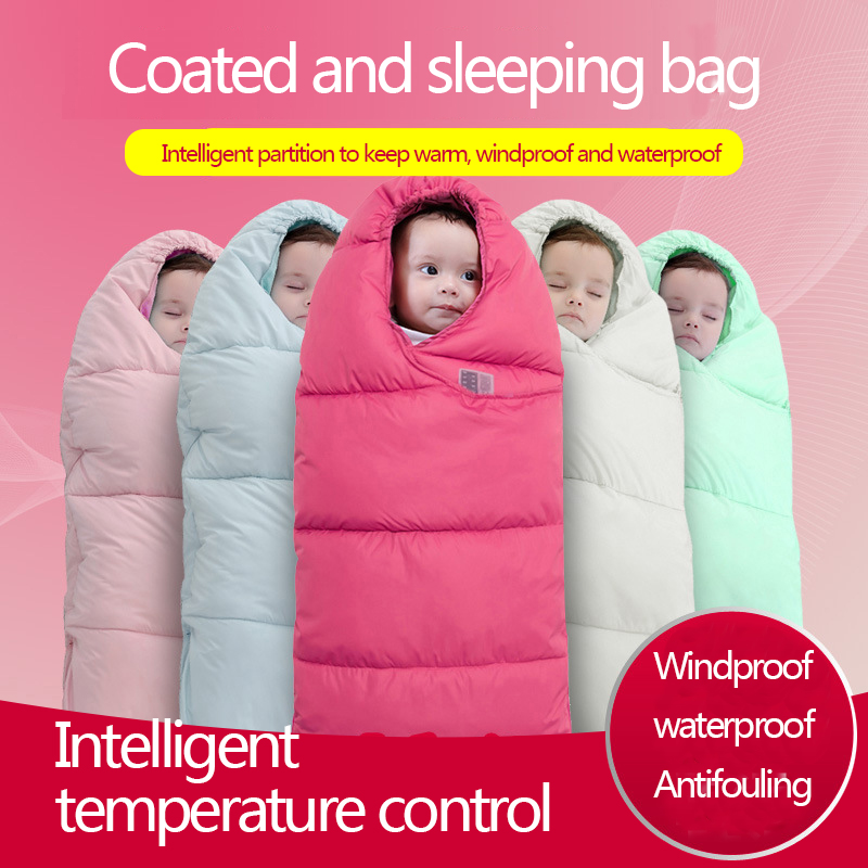 Light And Comfortable Baby Sleeping Bag In Autumn And Winter