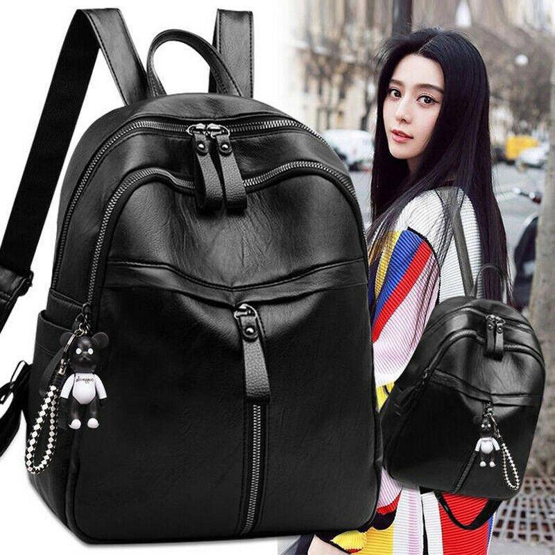 2020 Newest Fashion Women PU Leather Backpack Bag Cute Fashion Purse Cross Shoulder Hot Sale Travel