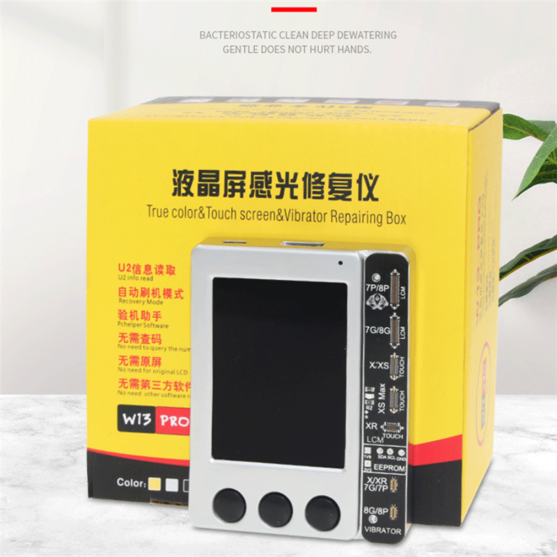 W13 Pro LCD True Tone Color Light Sensor Recovery Photoreceptor Programmer For IPhone 7 8 X XS 11 Pro Max