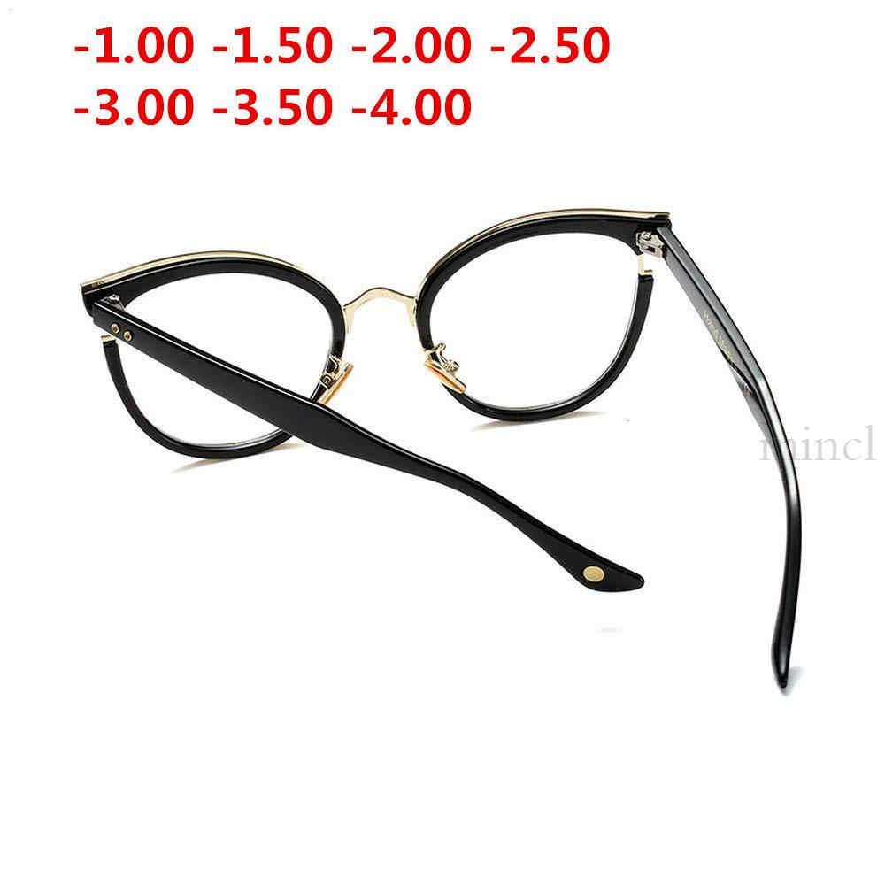 MINCL/2019 новая близорукость законченная леопардовая Женская оправа для очков от близорукости прозрачные линзы солнцезащитные очки близорукость очки от 0 до 4,0 NX