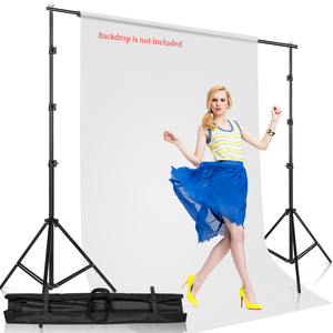 Image 5 - Photography Studio Backdrops Stand Portable Background Support kit for Photo Studio Muslin Backdrops Canvas with Carrying Bag