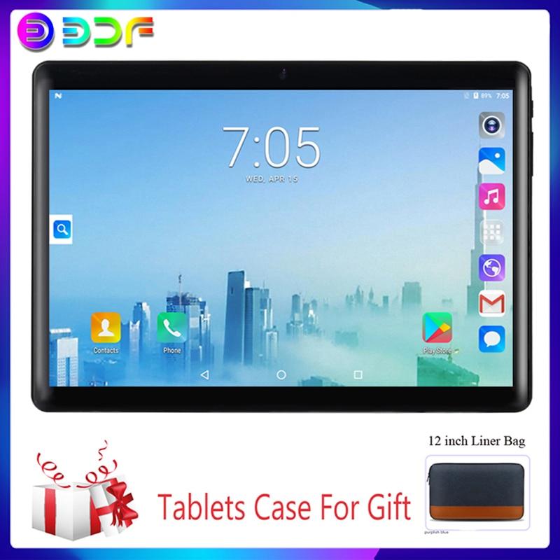 Tablet 2020 New 10.1 Inch Tablets System 7.0 Quad Core 3G Phone Call 32GB Wi-Fi Bluetooth 4.0 Dual SIM Tablet PC+Keyboard