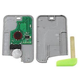 Image 4 - 5PCS/LOT,2 Button Smart Card Remote Key Fob 433MHz PCF7926 ID46 Chip For Renault Laguna Espace Vel Satis 2001 2007