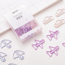 Cute Stationery Binder Clips Decorate 12pcs/Pack Clip-Photo Office-Supplies Tickets School