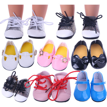 Doll Accessories, Doll Toy Shoes,  For 18-inch American Dolls And 43cm Reborn Dolls, The Best Gift For A Generation Of Girls недорого