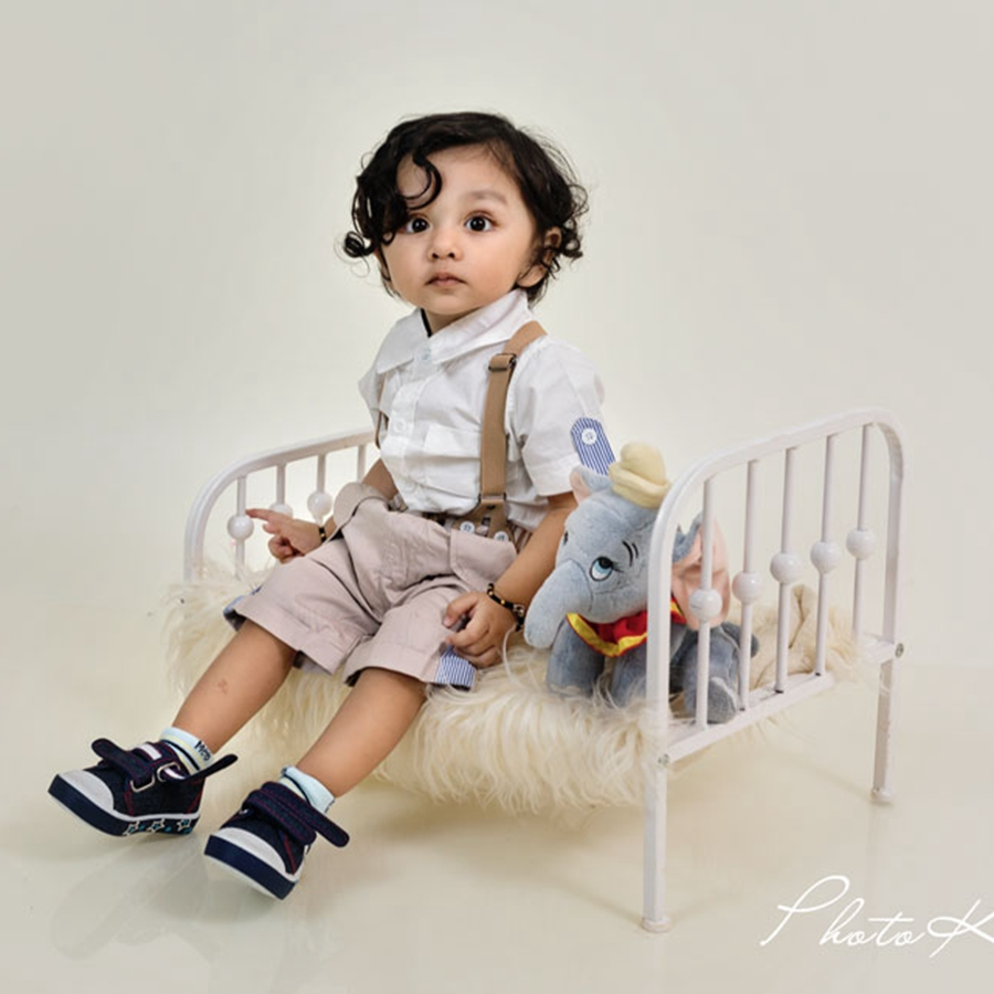 Newborn Bed Photo Prop Fashion Baby Posing Cribs,Easy To Disassemble Baby Bed, #P2194