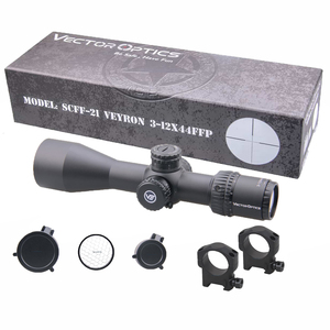 Image 5 - Vector Optics Veyron FFP 3 12x44  Ultra Compact Riflescope Air Rifle Scope First Focal Plane 1/10 MIL .223 7.62 AR15 Air Gun