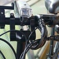 Bicicleta haste riser suporte de montagem titular levantou a altura do guiador para a frente elevado para xiaomi qicycle ef1 acessórios|Fita p/ guidão|   -