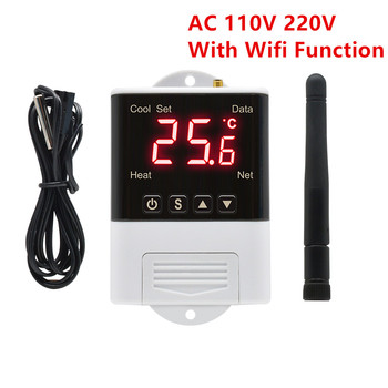DTC1200 DTC2210 DTC1110 AC 110V 220V Digital WIFI Thermoregulator Thermostat Temperature Controller Cooling Heating Switch digital thermostat 50 110c temperature controller switch ac110 220v with socket