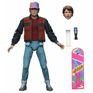 Action-Figure Movie Marty Mcfly Neca Halloween Back-To-The-Future American Science Biff