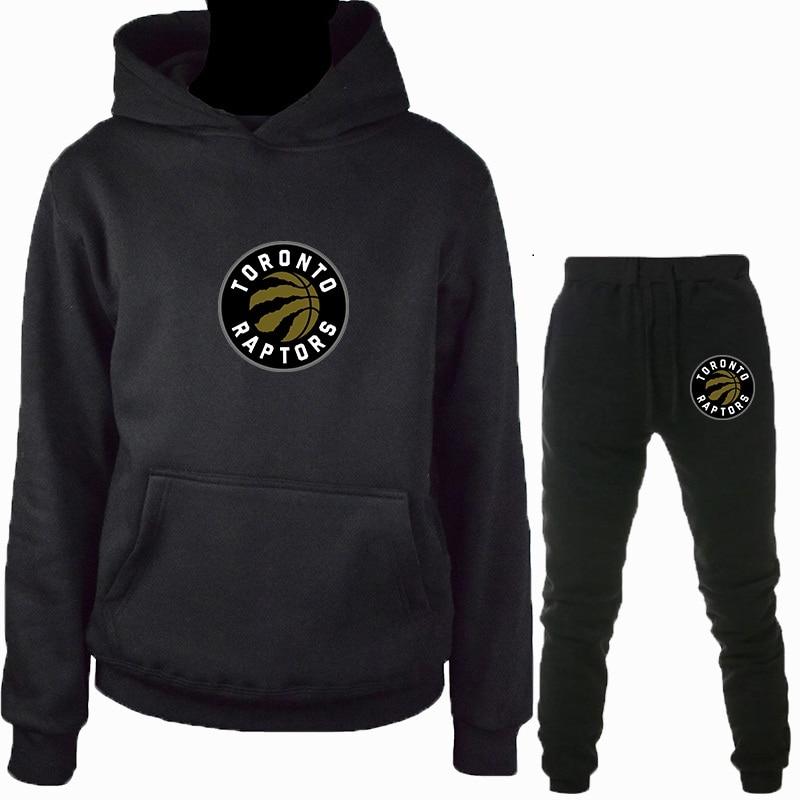New Style Toronto Leonard Raptors Jersey Men Hoodie Casual Tracksuit Men's Sportswear Suit Brand Warm Hoodies