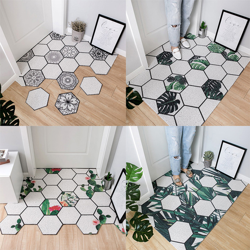 Pvc Absorbent Outdoor Welcome Mat Non