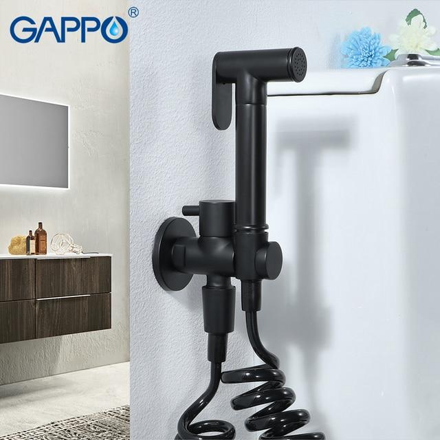 بيديت استحمام صحية من GAPPO بيديت بيديت استحمام أسود مسلمي بيديت دش بارد صنبور تنظيف شرجي بيديت حنفيات مرحاض