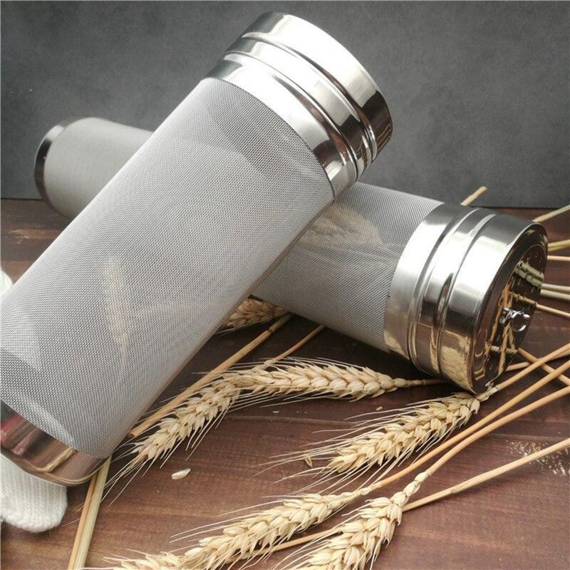 300 Micron Mesh Stainless Steel Beer Hops Filter Dry Hops Spider Hopper for Cornelius Kegs Corny Keg Home Brew