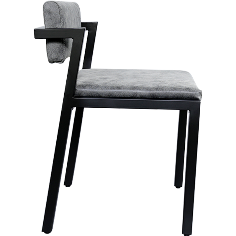 Studio Minimalist 7-shaped Chair Minimalist Modernist Work Chair Design Space Back Chair