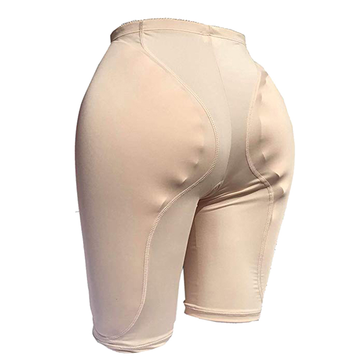 2PS Sponge Padded Butt Lifter Breathable Hip Enhancer Sponge Hip Pad Buttock Lifter Beauty Ajusen for