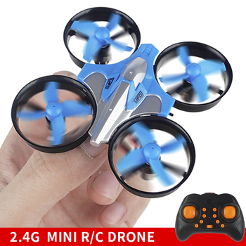 цена на Rc Helicopter 4ch Kids Toys Boys 10 15 Years Mini Drone Rc Quadcopter Toys For Children Kids Toys Pocket Drone Red Blue Small