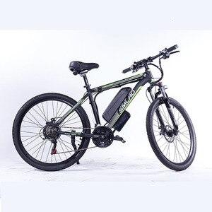 Image 4 - حجم الإطارات: 26/27.5/29 بوصة C6 F الألومنيوم دراجة جبلية كهربائية 7 سرعة E الدراجة 48 فولت بطارية ليثيوم 350 واط دراجة كهربائية