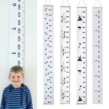 Waterproof Height Measure Wall Hanger Kids Growth Chart Tattoo for Nursery Room Decor GHS99