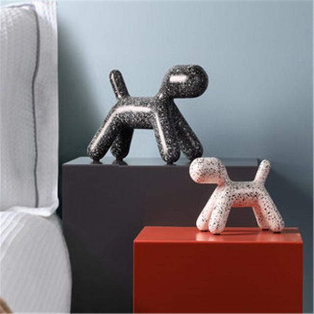 פסלון כלב דלמטי לעיצוב הבית 2
