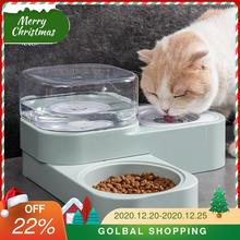 Cat-Bowl Fountain Pet-Supplies Automatic-Feeder Dogs Water-Drinking Kitten Indoor