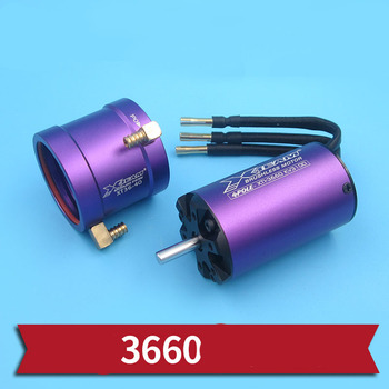 1pcs f540 4poles brushless motor high power no sense motors 3650 4370kv 9t motor for 1 8 1 10 rc rock crawler flat car replace 1PC High Power 3660 Brushless Motor 2100KV 3100KV Motors 3S 6S Water-cooled Motor in 5mm Axle for RC Jet Boats Power System