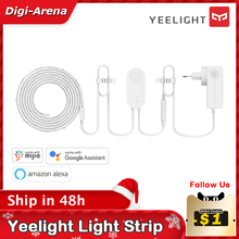 Yeelight Light Strip Plus Aurora 2 meter RGB LED strip 110V 220V Wifi smart control Work with Google assistant Xiaomi smart home
