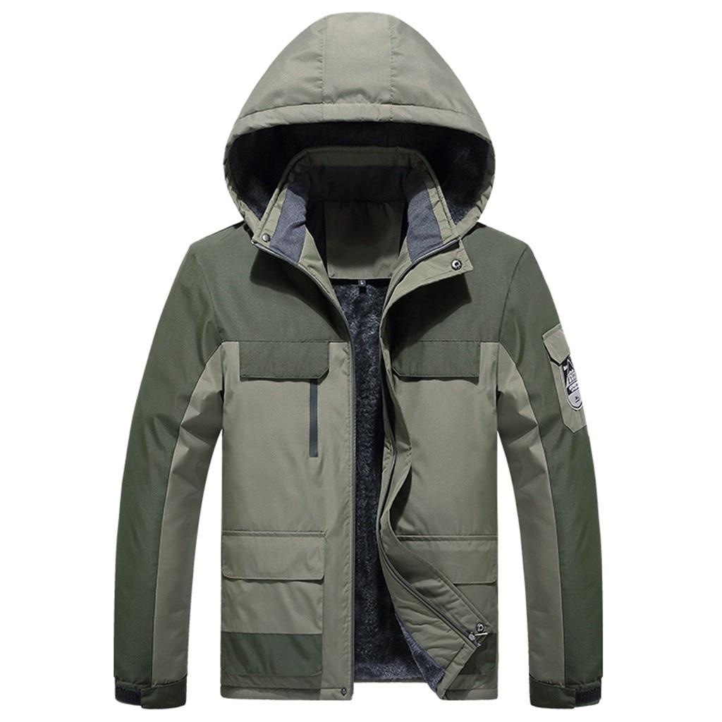 snowboard impermeável resistente a riscos multi-pocket casacos