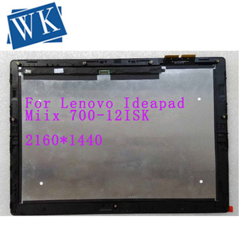 """for Lenovo Ideapad Miix 700-12ISK P/N FRU 5D10K37833 12"""" 2160x1440 touch Lcd Assembly screen With Frame bezel 5D10J33311"""