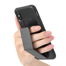 Wrist Strap armor Case For iphone X Xs max XR 7 8 7Plus Matte shockproof phone case Magnet Car Phone Holder Capa