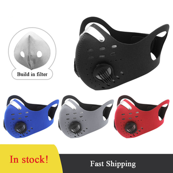 PM 2.5 Anti Haze Dust Cycling Mask Activated Carbon Mask Training Bicycle Bike Outdoor Sport Running Cycling Face Mask