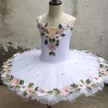Professional Ballerina Ballet Tutu For Child Kids Girls Adults Women Flower Pancake Tutu Swan Dance Costumes Ballet Dress Girls