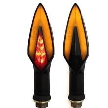 Светодиодный светильник поворотников для мотоцикла, задний светильник s, аксессуары для мотора, желтая красная лампа для Ducati 400 MONSTER S2R 800 748 916 996 998