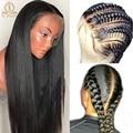 Плотность 180, предварительно выщипанные HD парики из человеческих волос на полной сетке, парик без клея на полной сетке, человеческие волосы, ...