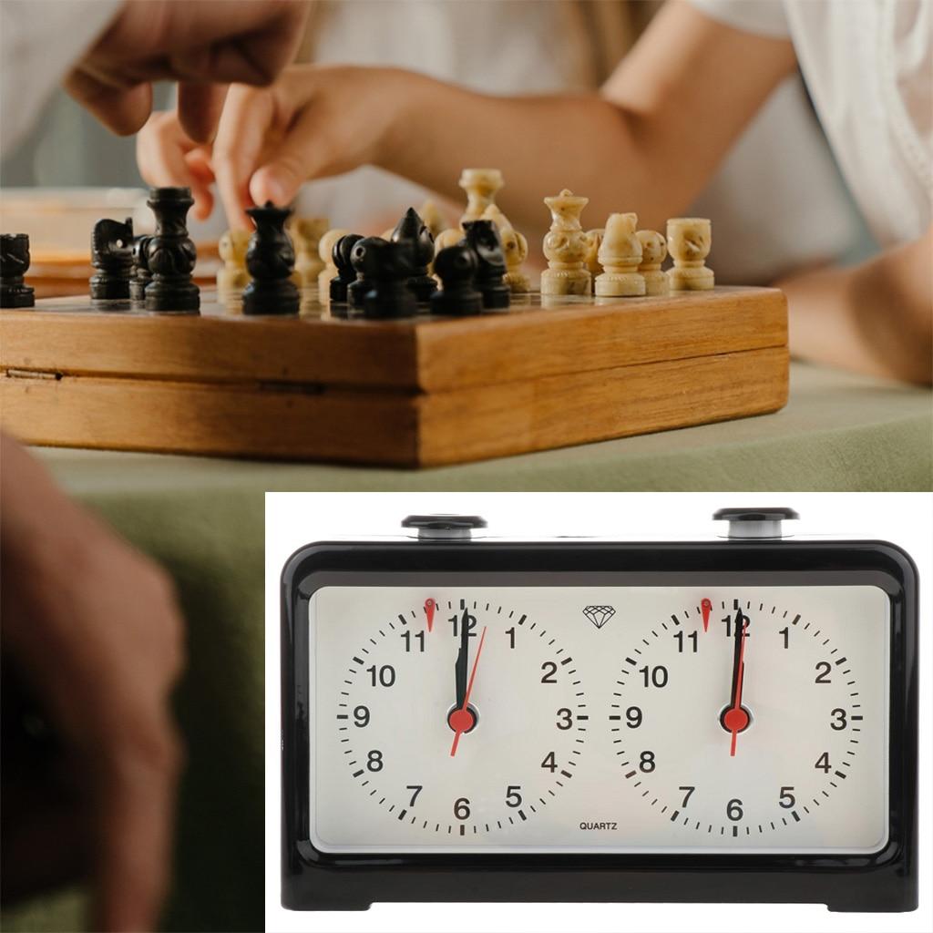 Horloge analogique à Quartz précise, jeu de plateau d'échecs, compétition de tournoi, compte à rebours, accessoire de minuterie