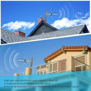 Image 5 - Усилитель сигнала сотового телефона LTE 700 4g, усилитель диапазона 28 700 МГц 65 дБ, репитер сотовой связи