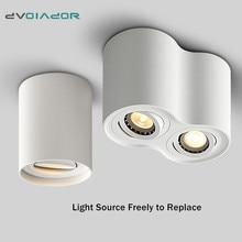 Лампа светодиодный потолочный светильник 5 Вт 10 Вт 14 Вт GU10 COB Точечный светильник для кухни, балкона, Домашний Светильник, монтируемый на поверхности Светодиодный точечный светильник
