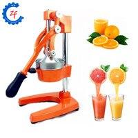 Lemon orange comercial extrator de suco de fruta romã imprensa da mão espremedor de citrinos manual de aço inoxidável pressionando máquina