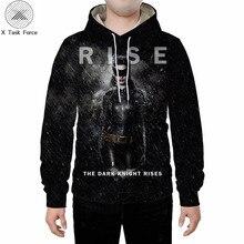 Hot summer sale men's sweatshirt hoodie batman superhero 3d printed jacket hoodi