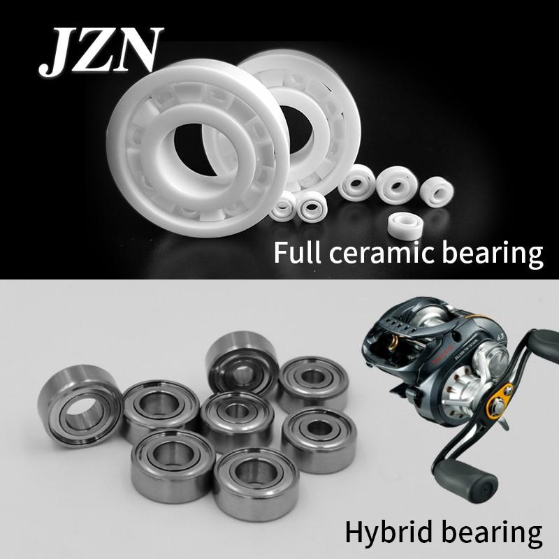 Luya fishing reels bait casting reels Spinning reels Upgraded all-ceramic hybrid ceramic bearings for smooth 623 MR115 ZZ