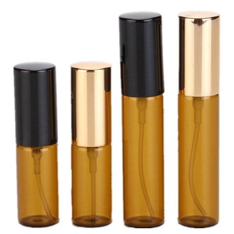 100 p s lote 5ml 10ml vazio spray garrafa mbar garrafas de leo essencial recarreg
