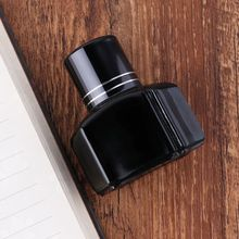 25ml Bottled Glass Black Smooth Writing Fountain Pen Ink Refill School Student Stationery Office Supplies 50ml bottled glass black smooth writing fountain pen ink school student stationery office supplies